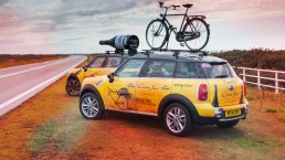 The Cono Sur Minis following the completion of the 3rd stage of Le Tour de France 2015