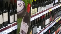 Try Trivento, aisle flags in supermarkets for Trivento sponsor of Premiership Rugby