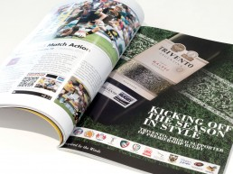 Trivento Supporter of Premiership Rugby, print advert