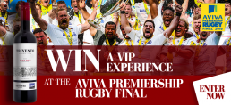 Trivento Win Tickets to Aviva Rugby Premiership Final
