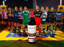Trivento, proud supporter of Premiership Rugby, captains photo