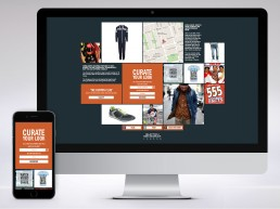 Curate Your Look online site for Burton Menswear