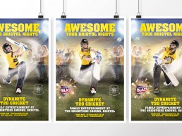 Awesome Your Bristol Nights campaign for Gloucestershire County Cricket 2016 T20 Cricket