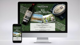 Trivento, sponsorship of Rugby Premiership campaign online competition,
