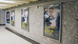 Grand Central Gloucestershire County Cricket T20 Campaign posters