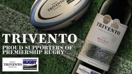 Trivento, official supporter of Premiership Rugby